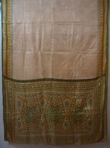 Brown Eco-friendly Paper Silk Sari Saree everyday promotions www. Structure paypal Bonus NR #1NQEI