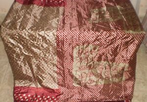 Maroon Grey Paper Silk Sari Saree Place of work Put on everyday promotions Designed In India #1NUS5