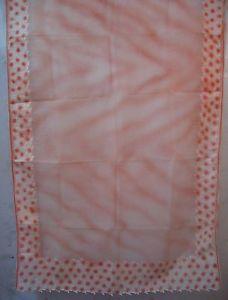 Peach Sari Reward Saree Hanging D?cor Wide variety Indian Globally each day deals #1NHA9
