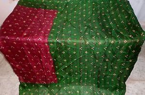 Maroon Henna Pure Silk four yard Classic Sari day-to-day discounts studies Style and design #1NPJE