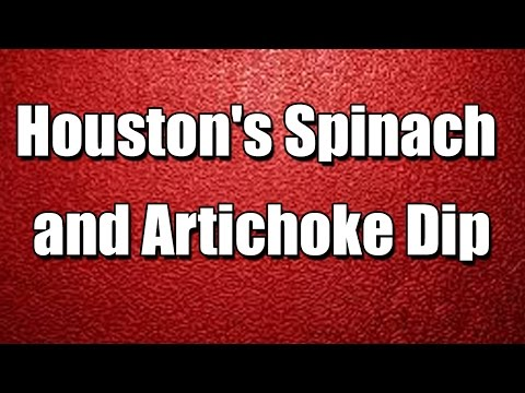 Houston's Spinach and Artichoke Dip – Simple recipes – Quick to Understand