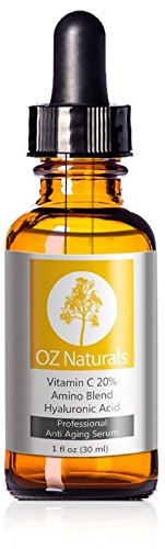 OZ Naturals – THE Greatest Vitamin C Serum For Your Facial area – Natural Vitamin C + Amino + Hyaluronic Acid Serum- Medical Energy 20% Vitamin C with Vegan Hyaluronic Acid Leaves Your Pores and skin Radiant & A lot more Youthful By Neutralizing Cost-free Radicals. This Anti Growing older Serum Will Eventually Give You The Success You have Been On the lookout For!
