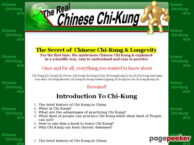The Authentic Chinese Chi Kung Qi Gong Chi Energy Chi kong Chi Kung Fu Tai Chi Kung Kung Fu Tai Chi