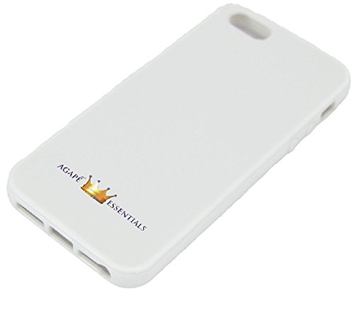 (Most effective Seller) Luxurious Again And Bumper Protector Impact Shell Snap On Scenario For Your Apple Iphone five – Again White Base With White Absorbent Bumper Trim