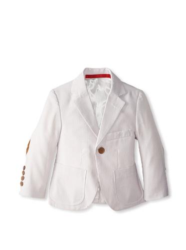 Elie Balleh Brand TAN Boy's 2014 Fashion Slim In shape Jacket/Blazer