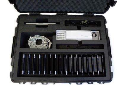 iPad Transport Case for sixteen iPads & a MacBook with Complete Sync-Charge Process