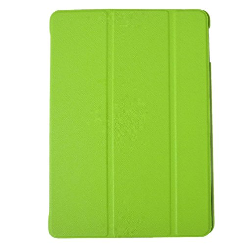 Evershop®Ultra Slim Light-weight Tri-Fold Slim Magnetic PU Leather-based Solitary Deal with Situation for iPad Air five (fifth Gen) Pill(With Smart Deal with Automobile Slumber / Wake Stand)-Environmentally friendly
