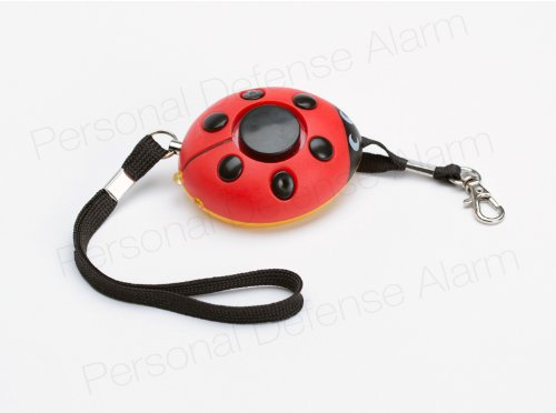 Best Seller!! Self-Security Alarm, Built as Little Red LadyBug, for Use by Children/Grownup To Assistance Scare Off Attackers Or In Scenario of Unexpected emergency