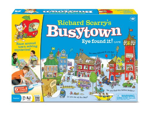 Richard Scarry Fast paced City