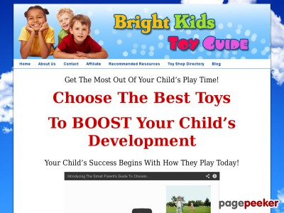Brilliant Young children Toy GuideThe Good Dad or mum&#039s Manual To Picking out The Very best Toys For Brilliant Young children