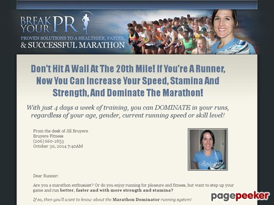 Marathon Schooling Software – Marathon Schooling Suggestions