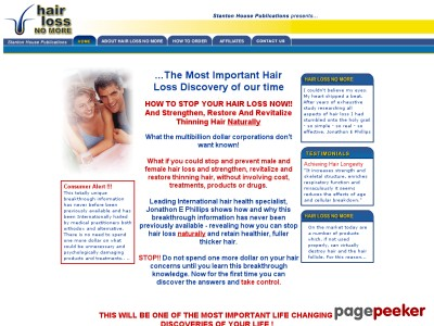 Hair Reduction No More, Natural Hair Reduction Treatment