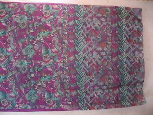 Magenta Environmentally friendly Pure Silk Classic Antique Sari Saree Fabr every day deals NR Uk #1SE6D