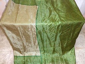 Henna Gray Paper Silk four property Vintage Sari Saree Material Store daily offers #1SM5Y