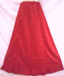 Pink Pure Cotton Frill Petticoat Skirts Sari XL Plussize Ebay every day offers #1SK83
