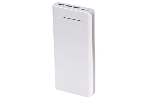 Cleefun10000mah Usb Portable Power Bank Charger Sensible(tm) Broad Compatibility, Rapidly Charging, Large Capability, Extremely Compact. For Apple iphone 6 6 In addition 5s 5c 5 4s, Ipad Air Mini (Apple 30pin and Lightning Cable Not Involved), Galaxy S5 S4 S3, Be aware three 2, Tab 4 three 2 Pro, Nexus, HTC A single, A single 2 (M8), Lg G3, Nexus, Moto X and More (White)