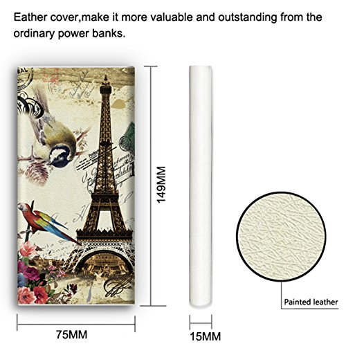 Beautiful Highlighted Design Slender 12000mah Portable Electricity Financial institution Backup USB Battery Charger (Twin USB Outputs, Extremely Compact Design) Exterior Battery CHARGER Pack for five, 5S, 5C, 4S, four, iPad Air,Samsung Galaxy S4 S3 Miniandroid Smartphones and Tablets