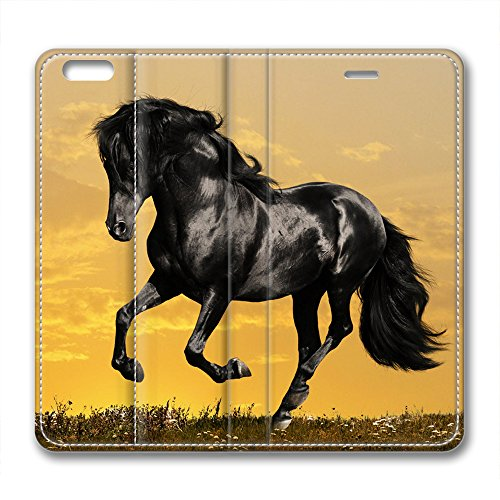 Steed Style and design Brand New Leather Situation for Iphone 6 In addition Sunset
