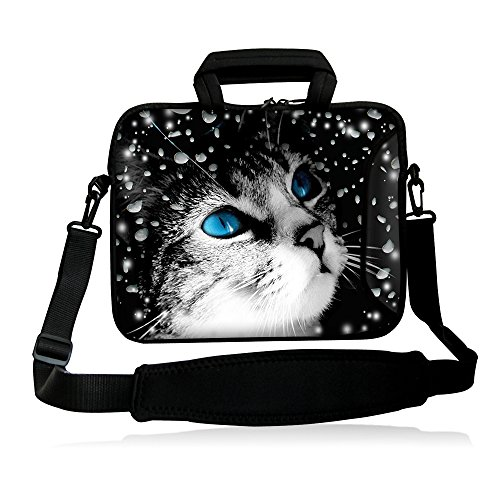 "Fshb13-013 NEW Fashion Lovable cat 12″ 12.one"" 12.5″ thirteen"" thirteen.three"" Inch Laptop Notebook Pc Shoulder Bag Messenger Bag Pouch Circumstance Protect Manage Bag Holder Briefcase with Smooth Carrying Manage Additional Aspect Pocket and Removable Shoulder Strap for thirteen.three"" Apple MacBook Professional,air/thirteen.three"" Samsung Series 5 9 Ultrabook/HP Folio / ENVY thirteen/ thirteen.three"" Lenovo IdeaPad /?Yoga Professional thirteen/thirteen.three"" Acer Aspire Samsung Ultrabook HP/Sony Professional thirteen/Duo thirteen/Fit 13A/thirteen.three inch Macbook Professional New Retina HP Dell Acer Sony ASUS Laptop Computer system"