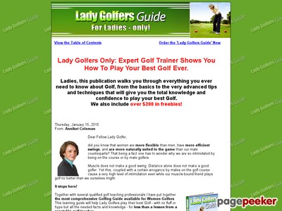 Females Golf Source for all Ladies Golfers – the Girl Golfers Guide