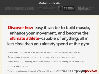 Supreme Athleticism | Zero to Hero Manual to Toughness, Wellbeing, &amp Overall flexibility