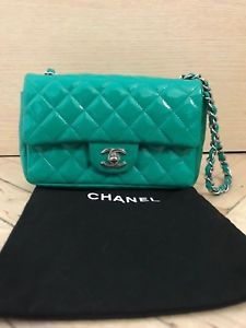 CHANEL Vintage  MINI SQUARE Classic Quilted Flap Crossbody Shoulder Bag