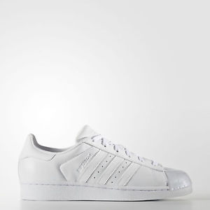 New adidas Originals Superstar Shoes BB0683 Women's White Sneakers