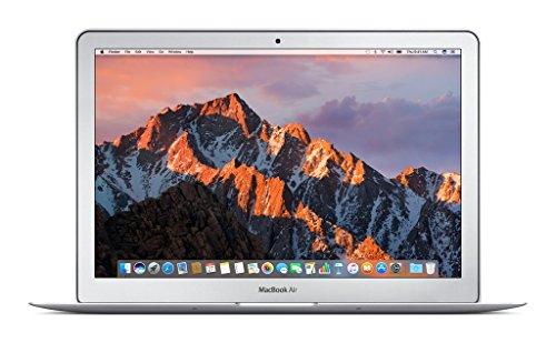 Apple 13″ MacBook Air, 1.8GHz Intel Core i5 Dual Core Processor, 8GB RAM, 128GB SSD, Mac OS, Silver, MQD32LL/A (Newest Version)