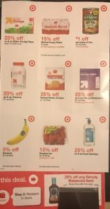 Target Store Coupons For Fruit Water More