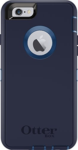 OtterBox DEFENDER iPhone 6/6s Case – Frustration-Free Packaging – INDIGO HARBOR (ROYAL BLUE/ADMIRAL BLUE)