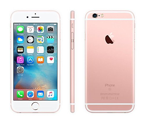 Apple iPhone 6S Plus, GSM Unlocked, 16GB – Rose Gold (Certified Refurbished)