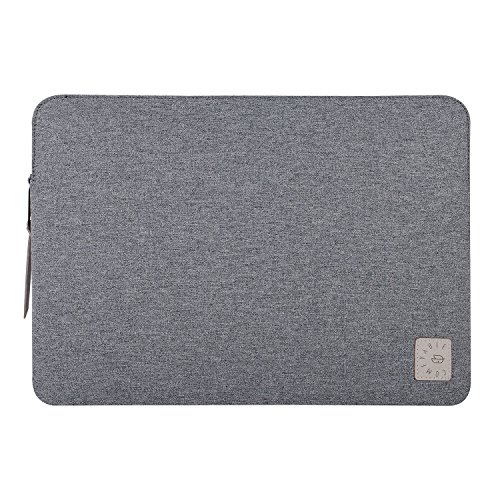 Comfyable Laptop Sleeve for 15 Inch New MacBook Pro 2016 & 2017- Waterproof Mac Cover Case- Dark Gray